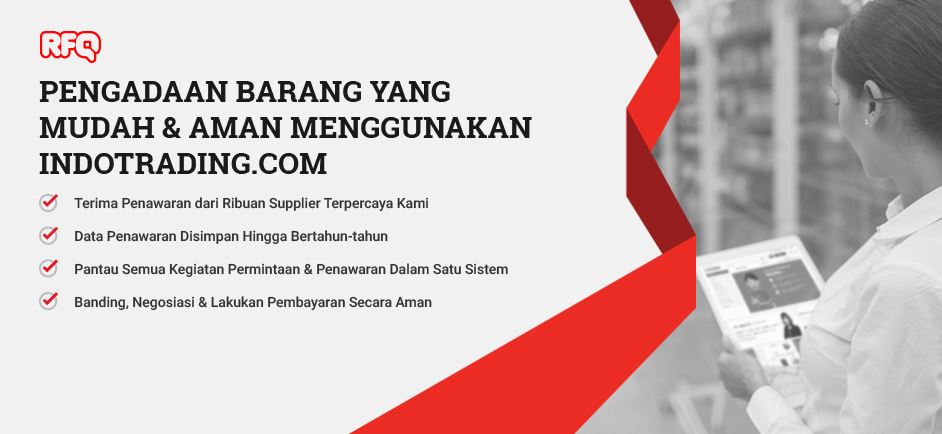 indotrading, largest supplier network