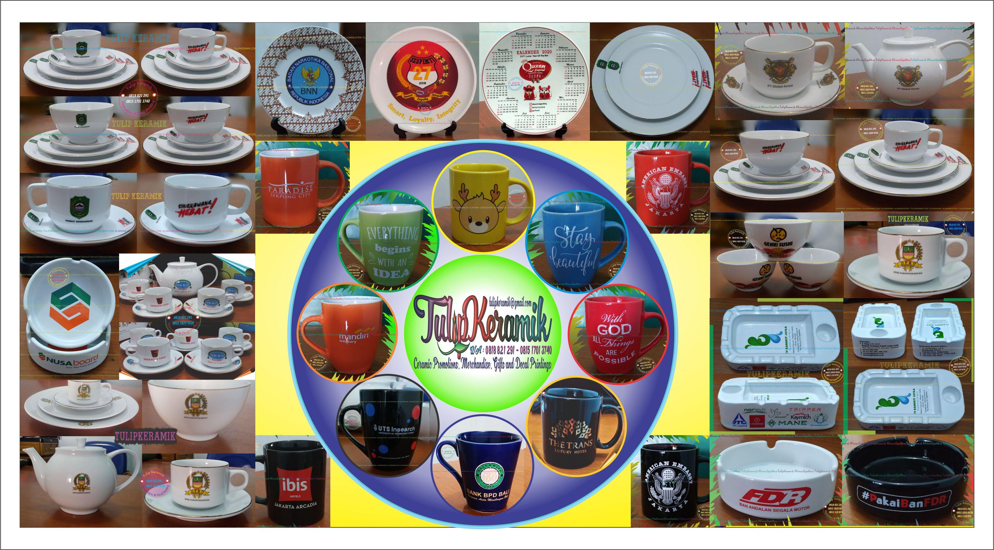 Merchandise dan Souvenir Keramik