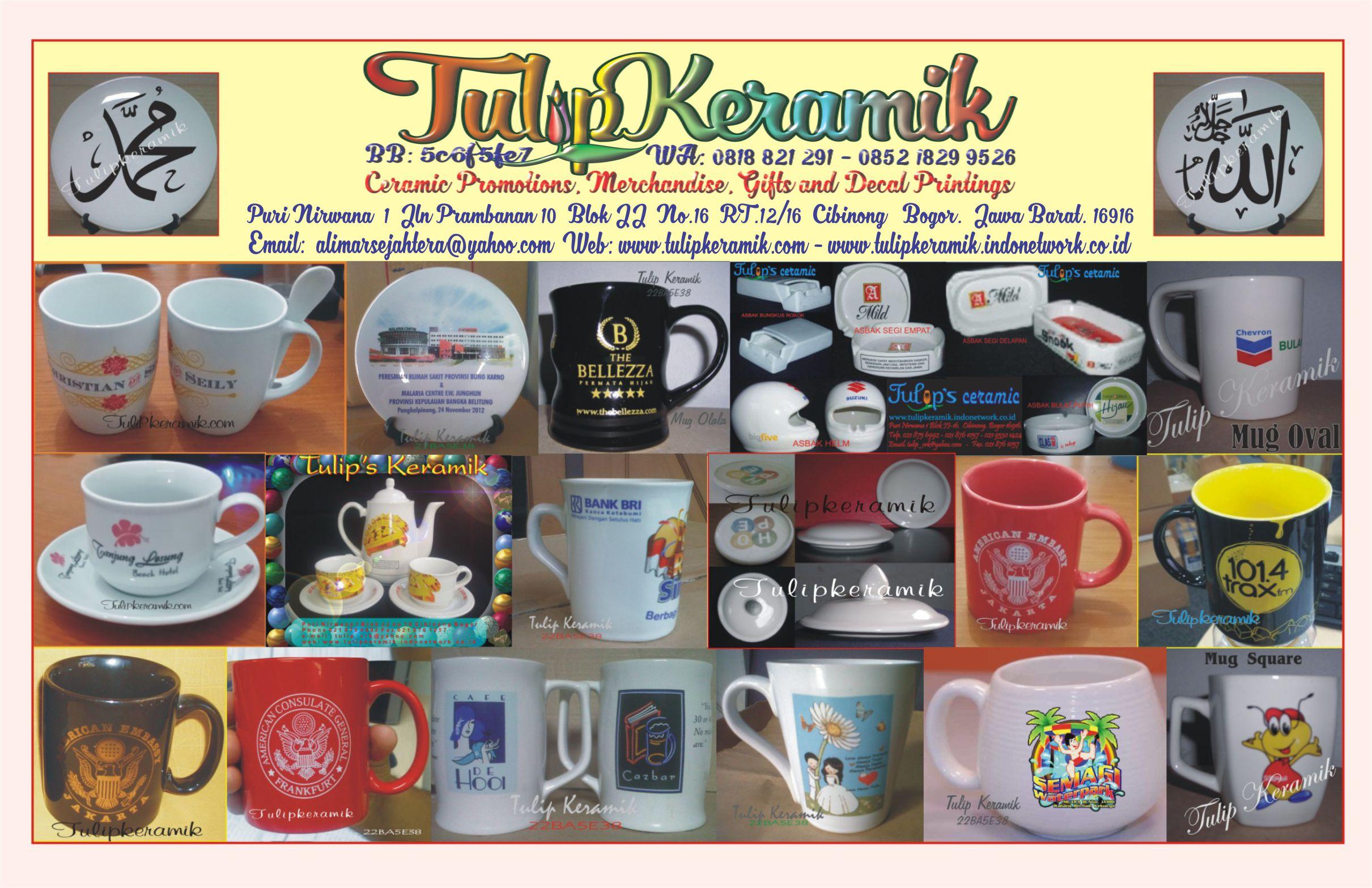 Merchandise keramik promosi