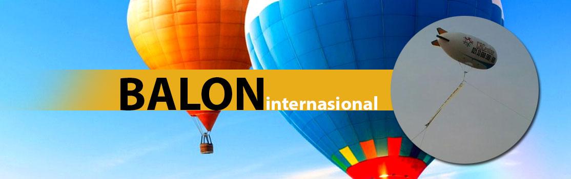 Pt balon international campo balloon promotion center for Dekor international pt