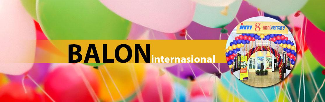 Pt balon international pusat balon promosi balon for Dekor international pt