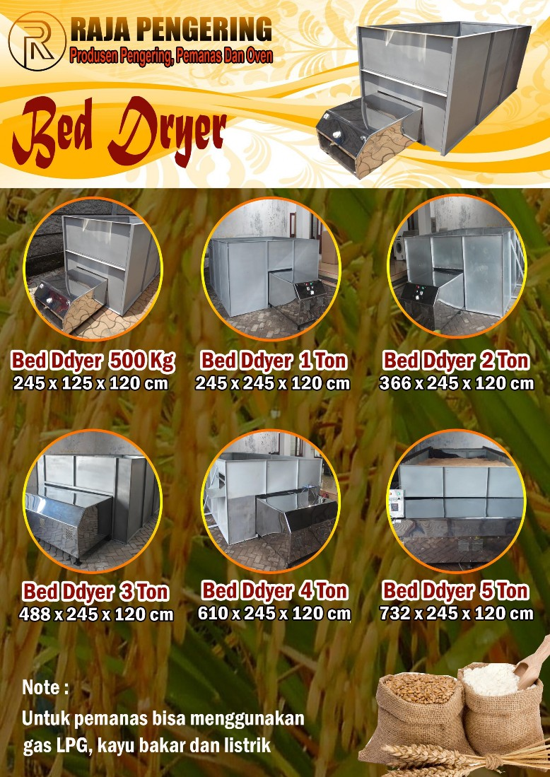 Katalog Pengering Pertanian Model Box (BOX DRYER)