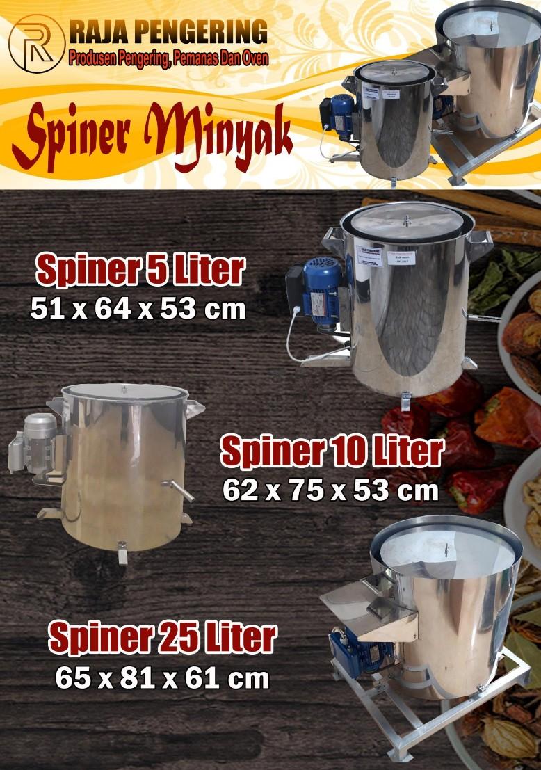 Katalog Peniris Minyak / Spinner