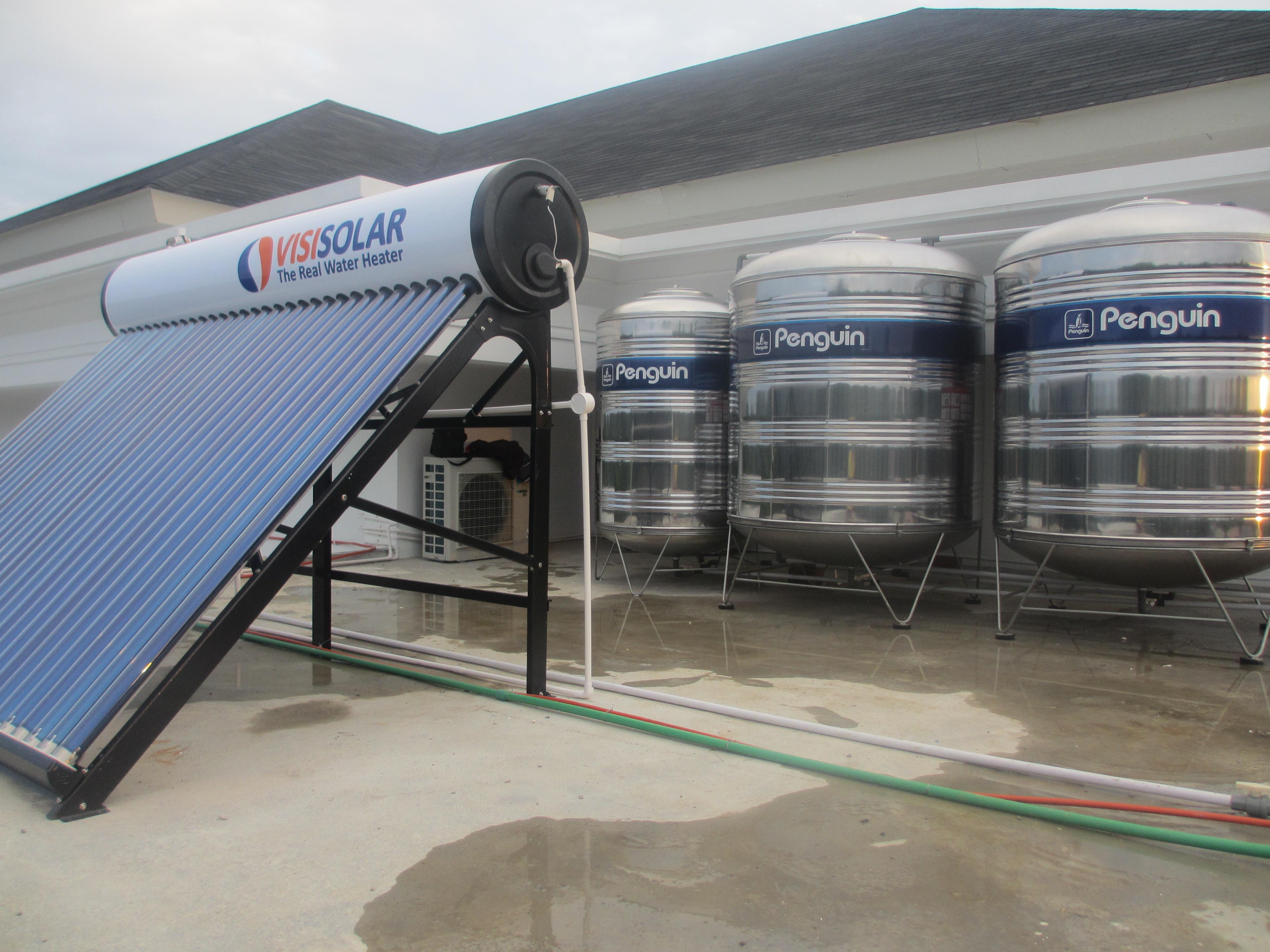 Proyek Solar Water Heater Hotel di Banda Aceh