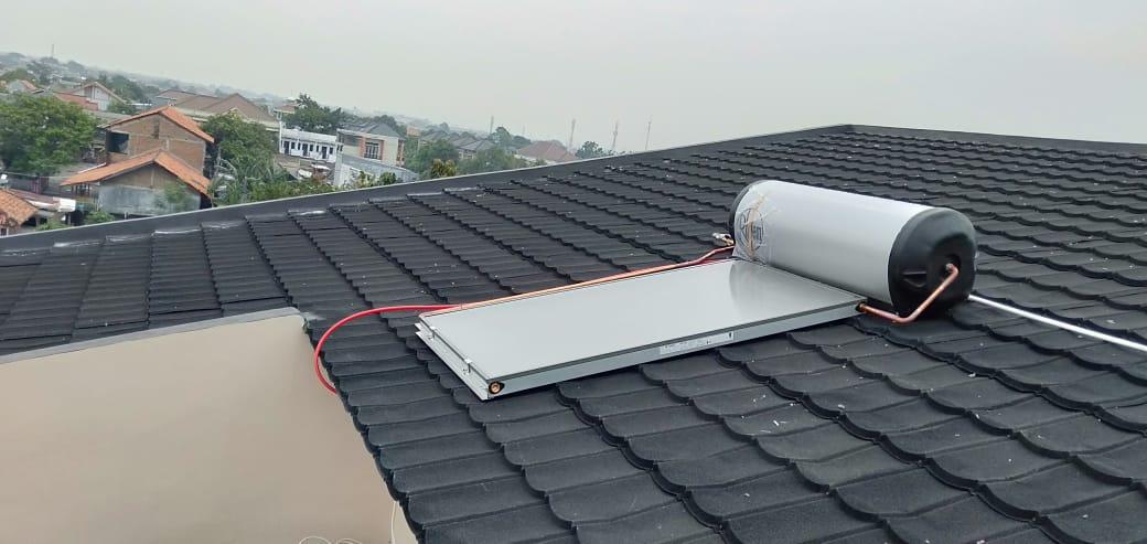 Pemasangan Rheem Solar Water Heater