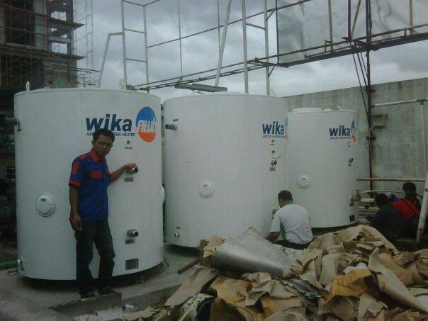 Proyek AC Water Heater Hotel di Kalimantan Selatan