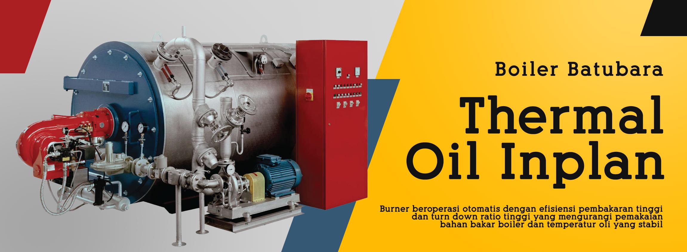 PT Euroasiatic Jaya Sell Boiler batubara Saacke burner Actom