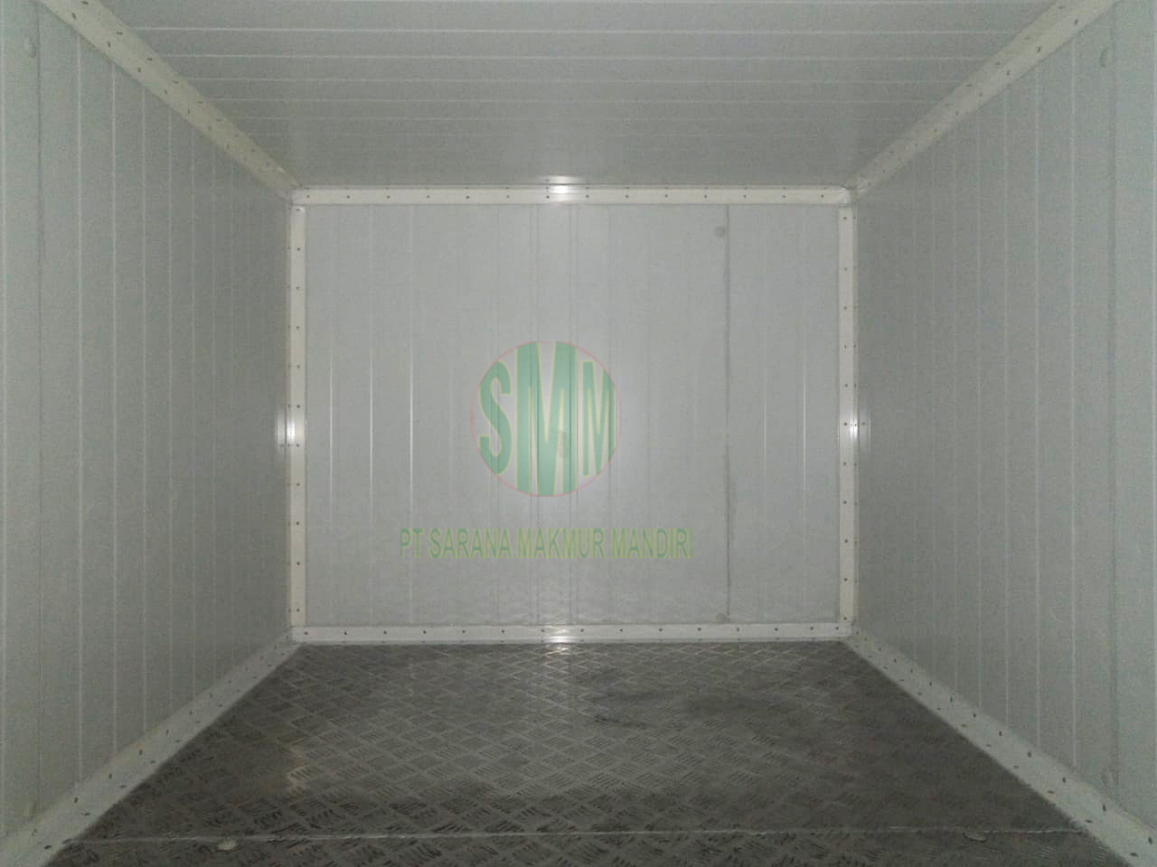 Project Sandwich Panel Cold Storage Pickup L300