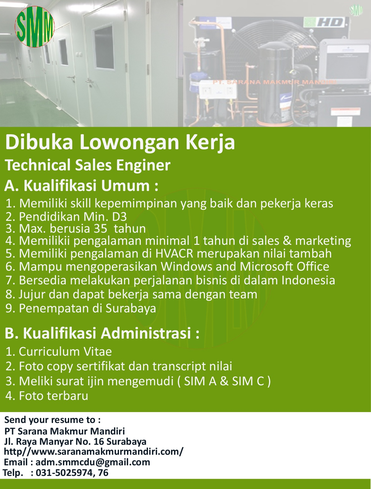 Technical Sales Enginer