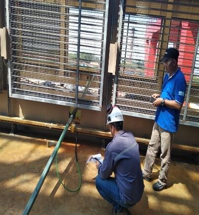 Memastikan Gas Detector dalam Keadaan Normal