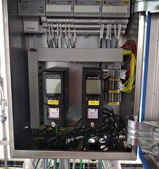Controller Gas Detector Midas