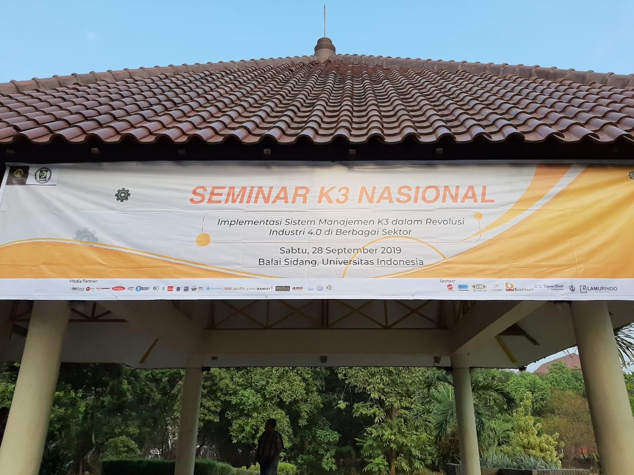 Seminar K3 Nasional UI Jakarta