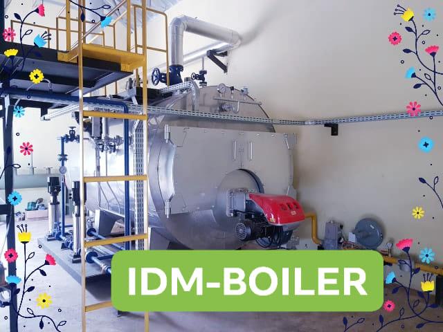Sales  Fire tube Steam Boiler https://indira.co.id/