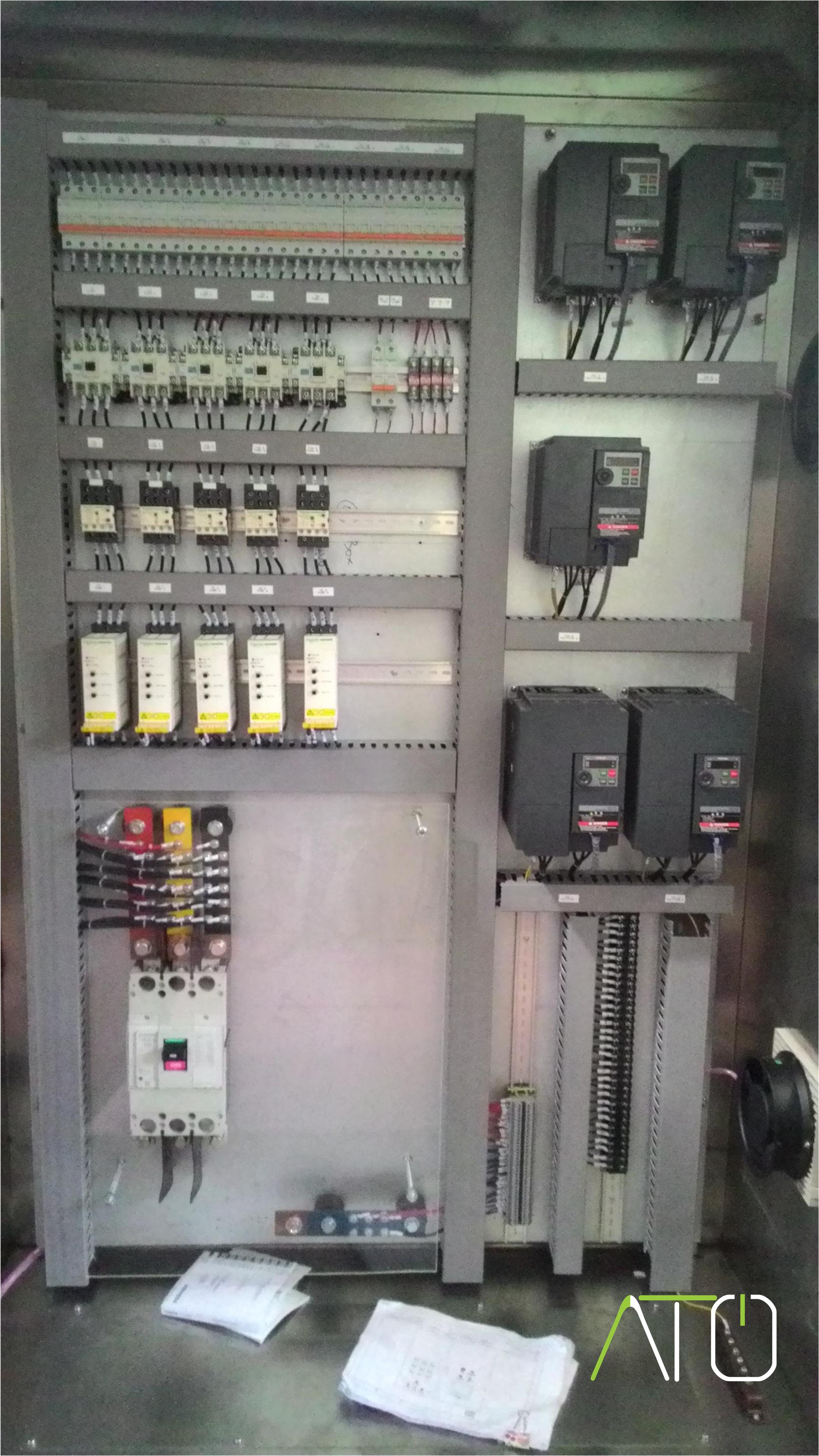 Panel Inverter - Project Oil Cooking Process
