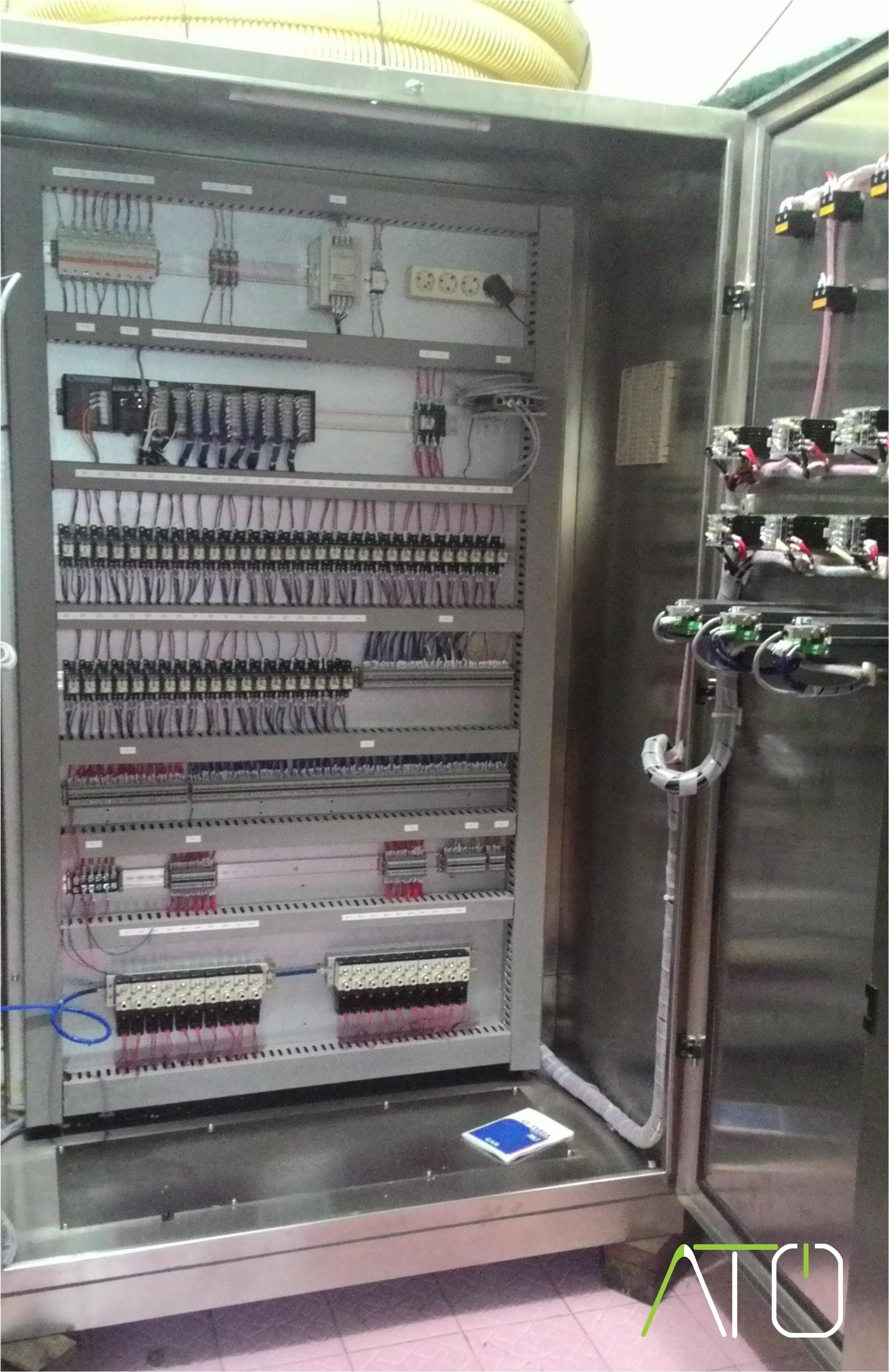 Panel Controller - Project Oil Cooking Process