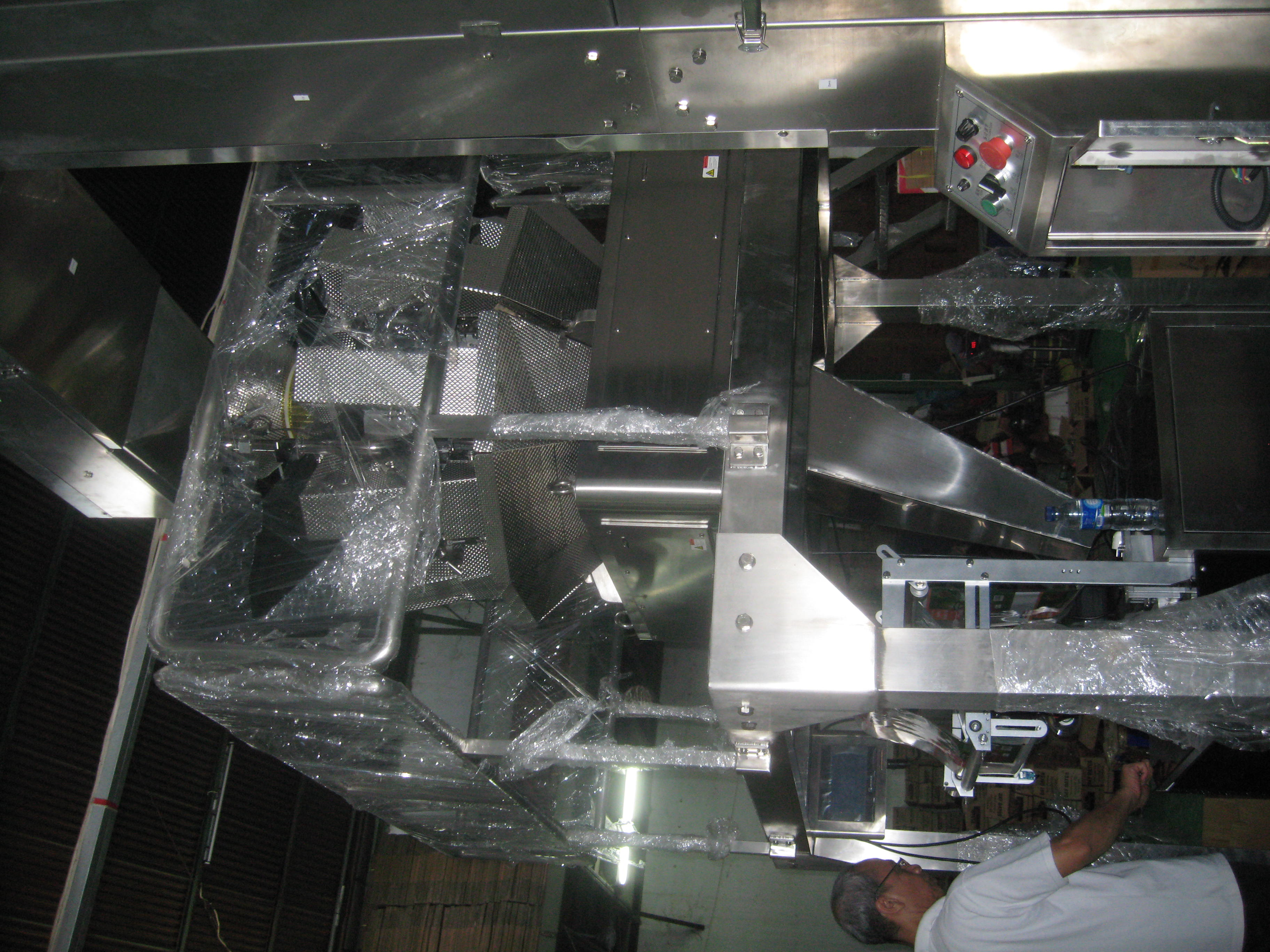 Install & Setting Multihead Weigher Packing Machine