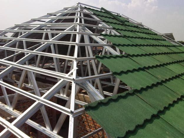 Rangka Atap Baja Ringan Jasa dan Material