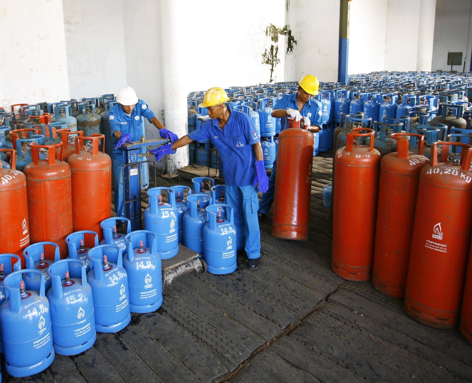 Elpiji Pertamina 5,5 kg, 12 Kg & 50 Kg