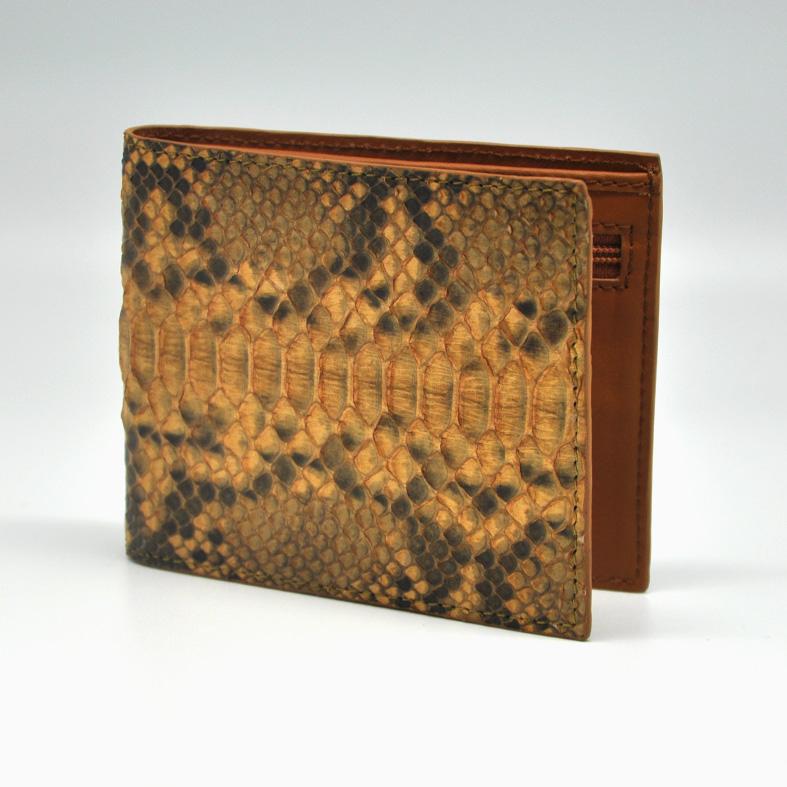 Men Wallet - Python Skin
