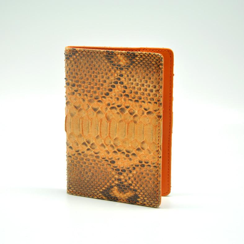 Passport Case - Python Skin