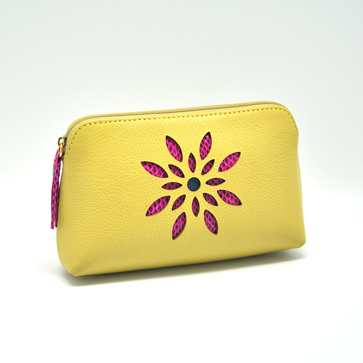 Cosmetic Case - Cow Leather