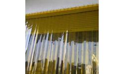 Tirai Plastik Kuning