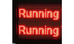 Running LED